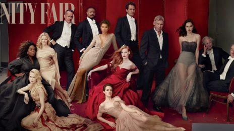 Vanity Fair Unveil Cover For 2018 Hollywood Issue Featuring Oprah, Michael B. Jordan, & Zendaya