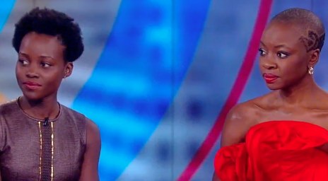 Watch: Danai Gurira & Lupita Nyong'0 Take #BlackPanther To 'The View'