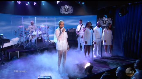 Did You Miss It?  Monica Delivers Stunning 'Angel of Mine' Performance for 'Kimmel'