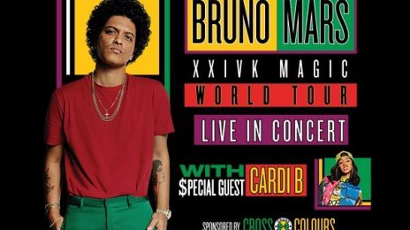 Bruno Mars & Cardi B '24k Magic Tour' Dates Revealed