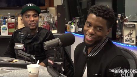 'Black Panther' Chadwick Boseman Visits 'The Breakfast Club' / Talks Success, Secrets, & Sequels