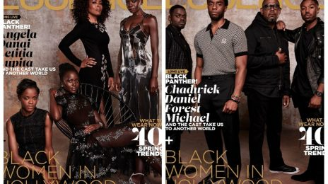 'Black Panther's All-Star Cast Cover ESSENCE