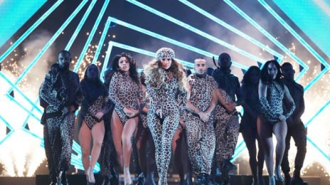 Watch: Jennifer Lopez Performs 'Us' On 'DIRECTV Super Saturday Night' Super Bowl Pre-Show