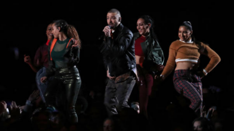 Watch: Justin Timberlake Performs At Super Bowl Halftime Show
