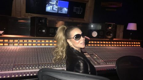 Hot Shot: Mariah Carey Hits The Studio For New Album