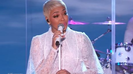 Watch: Monica Amazes With 'Angel Of Mine' On 'Kimmel'