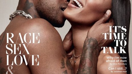 Naomi Campbell Covers British GQ With UK Rapper Skepta