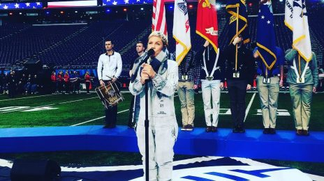 "Pink On Super Bowl National Anthem: ""I Have The Flu"""