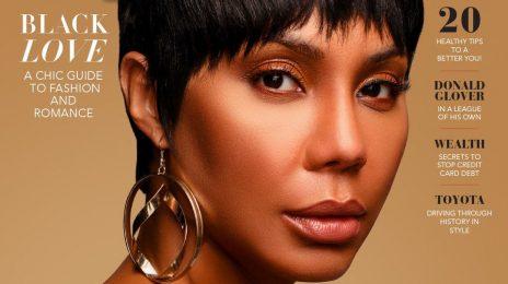 Tamar Braxton Covers Upscale Magazine