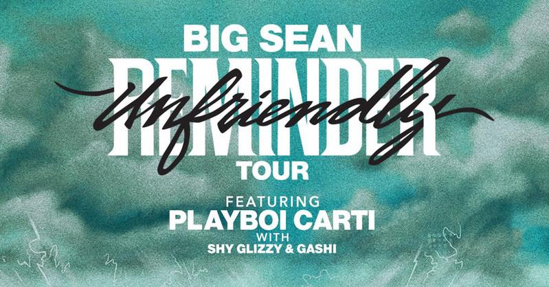 Big sean tour dates in Sydney