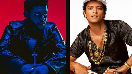 The Weeknd & Bruno Mars To Headline Lollapalooza 2018