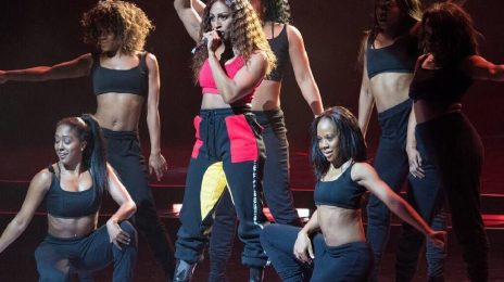 Watch: Alexandra Burke Blazes WE Day With 'Shadow' & 'Bad Boys'
