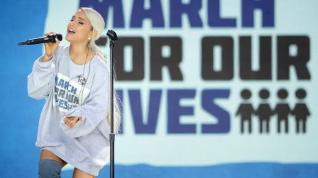 Watch:  Ariana Grande, Miley Cyrus, & Jennifer Hudson Among Performers For 'March For Our Lives' Rally