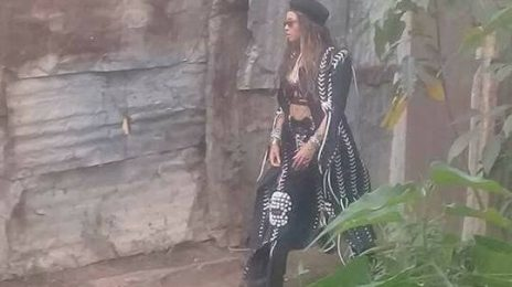 Beyonce Spotted On 2nd Day Of Video Shoot In Jamaica