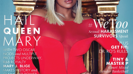 Hot Shots:  Mary J. Blige Beams As 'Ebony's March 2018 Cover Girl