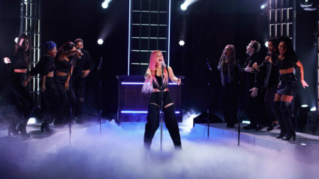 Watch:  Iggy Azalea Delivers 'Savior' Performance for 'Late Late Show'