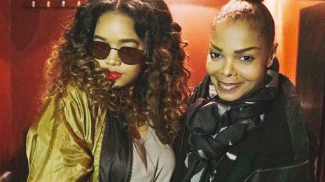 Janet Jackson Meets H.E.R / Showers Singer With Praise