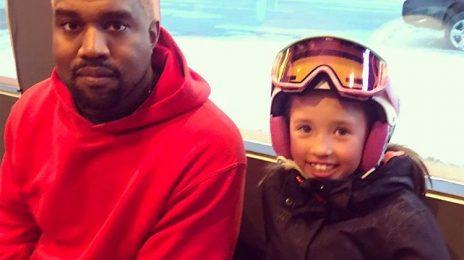 Kanye West Debuts Pink Hair