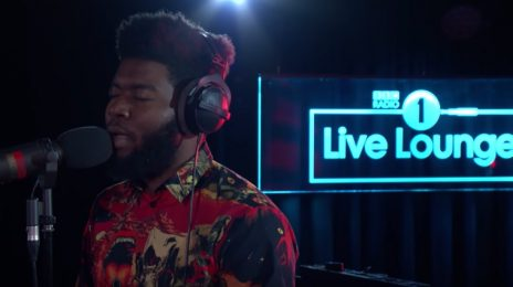 Khalid Performs Tracy Chapman's 'Fast Car '& More On BBC Radio 1 Live Lounge