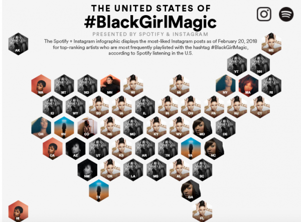 Nicki Minaj Dominates Instagram & Spotify\'s \'Black Girl Magic\' Map ...