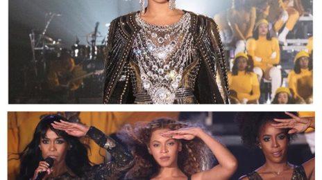 Watch: Beyonce Rocks Coachella 2018 / Reunites Destiny's Child