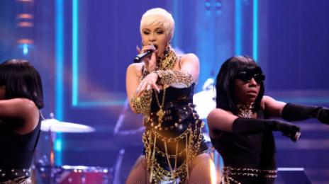 Watch:  Cardi B Co-Hosts & Rocks 'Tonight Show' With 'Money Bag'