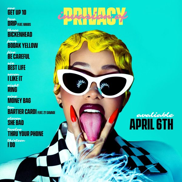 Image result for invasion of privacy tracklist