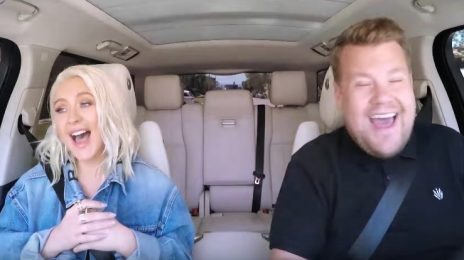 Watch: Christina Aguilera Soars On 'Carpool Karaoke With James Corden' [Full]