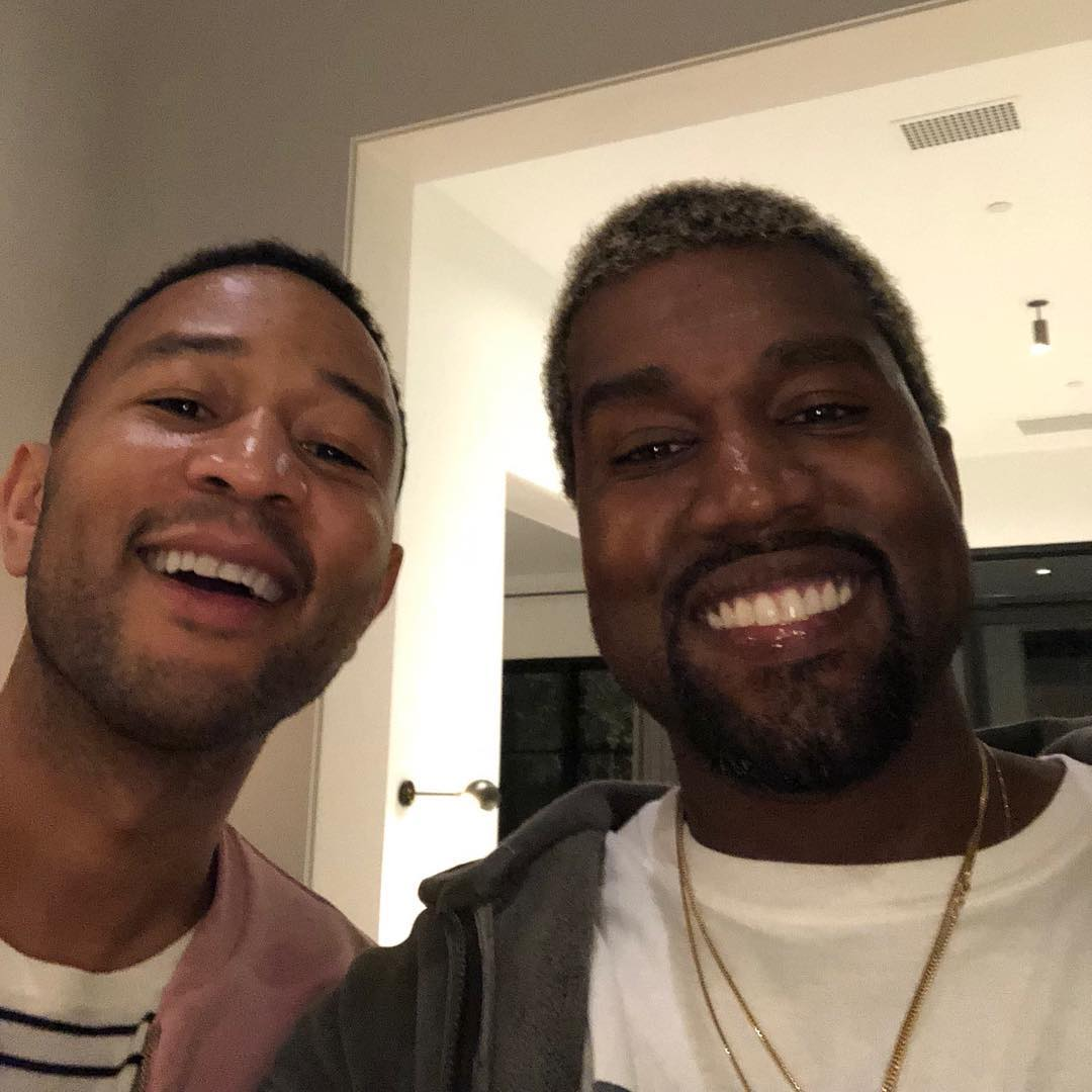 Kanye West Reconciles With John Legend / Drops New Song 'Ye