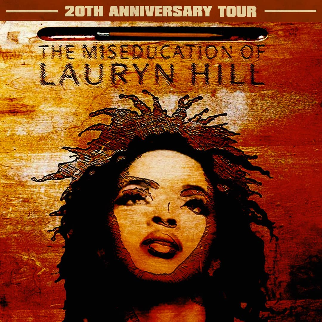 Lauryn Hill Announces 20th Anniversary Tour Of The