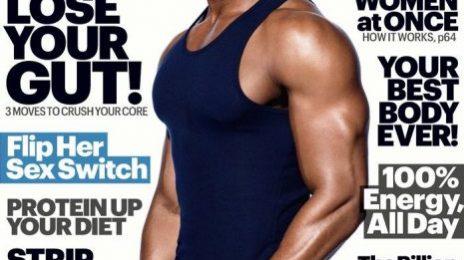 Hot Shots:  Michael B. Jordan Heats Up the Pages of 'Mens Health' [Photo & Video]