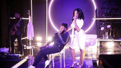 Watch: Normani & Khalid Perform 'Love Lies' On 'Fallon'