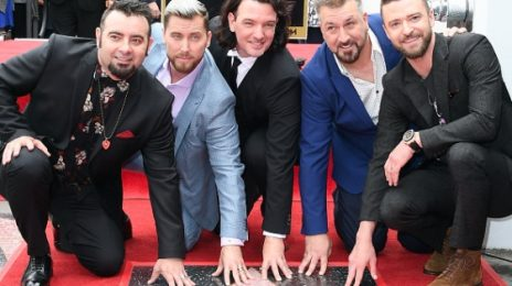 NSYNC Receive Star On Hollywood Walk Of Fame