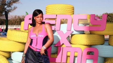 Hot Shots: Rihanna Poses It Up At Fenty x Puma Promo Event