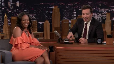 Tiffany Haddish Brings The Funny To 'Fallon' / Talks New TV Show, Grinding At Bar-Mitzvahs, & More