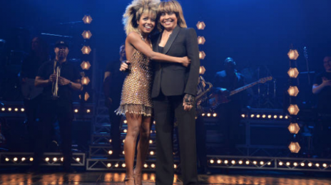 Hot Shots:  Tina Turner Makes First Red Carpet Appearance in 5 Years To Support Her New Bio-Musical
