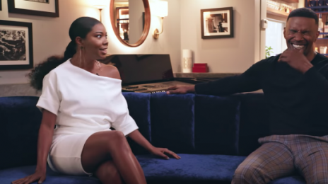 Watch: Jamie Foxx Interviews Gabrielle Union