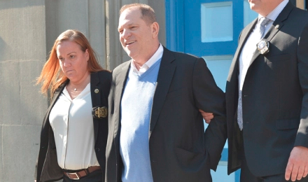 Watch: Harvey Weinstein Charged With Rape / Handcuffed In NYC