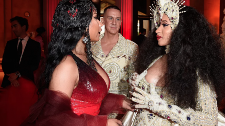 Cardi B & Nicki Minaj Kiss & Make Up at 2018 Met Gala? [Photos]