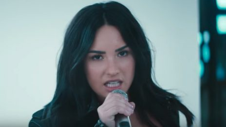 Watch: Demi Lovato Belts Christina Aguilera's 'Fall In Line' In Belfast