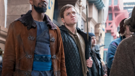 Movie Trailer:  'Robin Hood' [Starring Taron Egerton & Jamie Foxx]