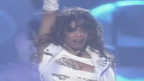 From The Vault: Janet Jackson Rocks 'MTV Icon' Performance