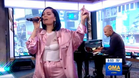 Jessie J Soars With 'Queen' On GMA / Announces 'The R.O.S.E Tour' US Dates