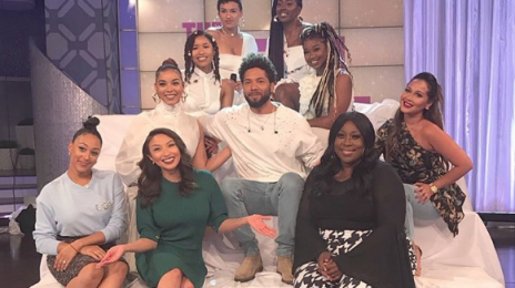 Watch: Jussie Smollett Visits 'Larry King Now' / Performs with June's Diary on 'The Real'