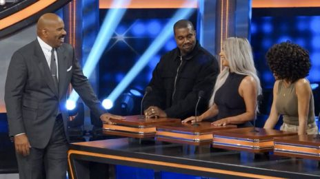 TV Teaser:  Kanye West & the Kardashians Duke It Out on 'Family Feud' [Video]