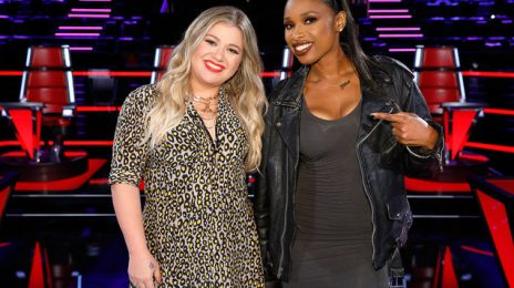 Jennifer Hudson & Kelly Clarkson Announce Return To 'The Voice'