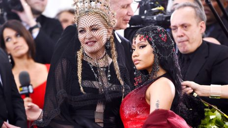 Watch:  Madonna & Nicki Minaj Tease New Collabo 'Coming Soon'
