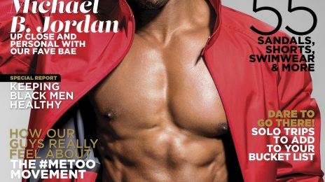Behind the Scenes:  Michael B. Jordan Heats Up the Pages of 'Essence' [Video]
