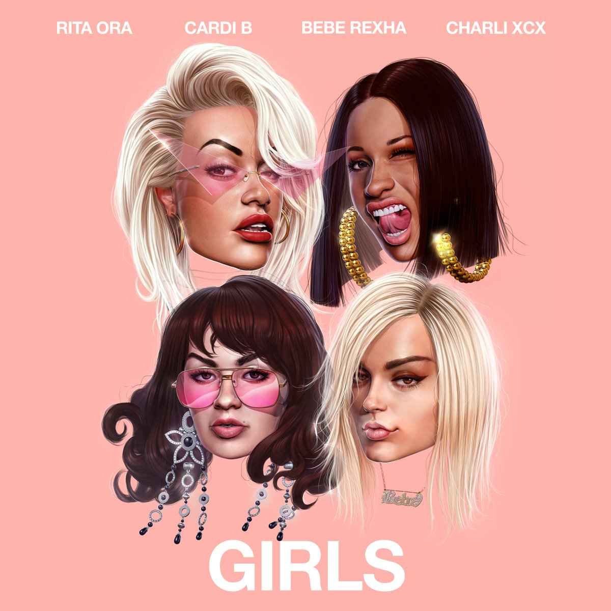 Girls Like U Cardi B Mp3 Download: New Song: Rita Ora, Cardi B, Bebe Rexha, & Charli XCX