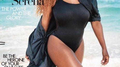 Serena Williams Covers Harper's Bazaar
